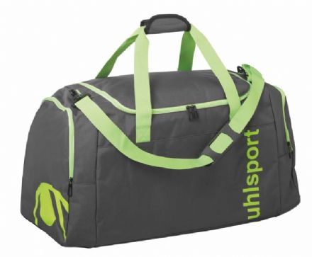 Essential Sports Bag  Anthra / Fluo Green